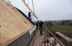 Oak Frames and Sip Panels