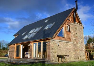 Monmouthshire Oak Framed House
