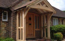 Oak Porches & Garages