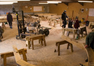 Busy in the Westwind Oak workshop