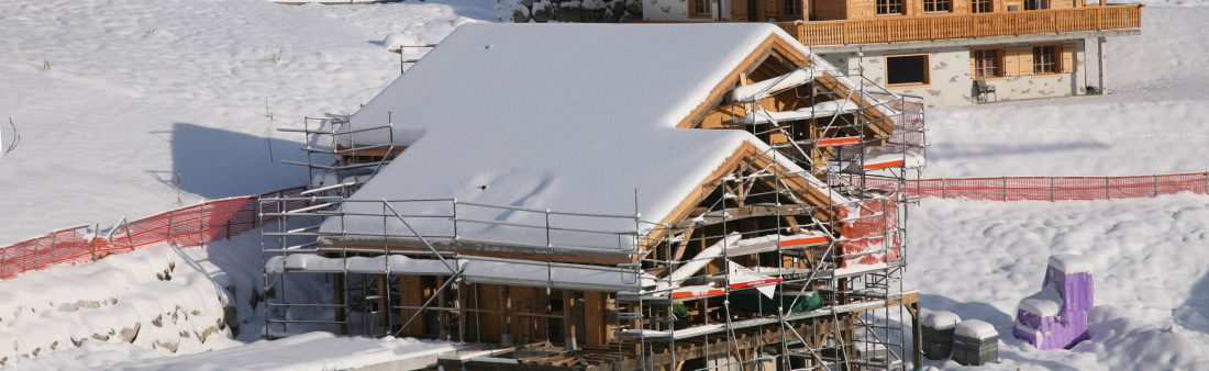 Alpine Chalet Timelapse