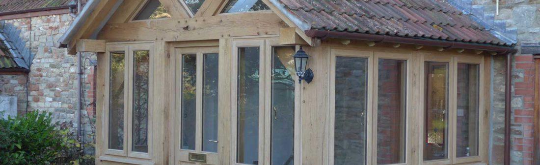 Oak Framed Porch in Somerset
