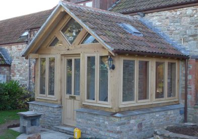 Oak Framed Porch in Somerset